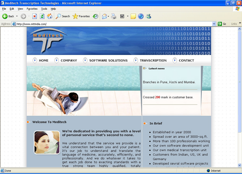 Ashtech is a top website designing, web development as well as web hosting company based in Pune. Being in web development and application software's we have already designed many websites, ecommerce shopping cart development, web development projects for India and other countries customers. By having proper set of tools for web development, web designing and SEO / SEM in India we can work on any level of website development projects as per customer requirements.