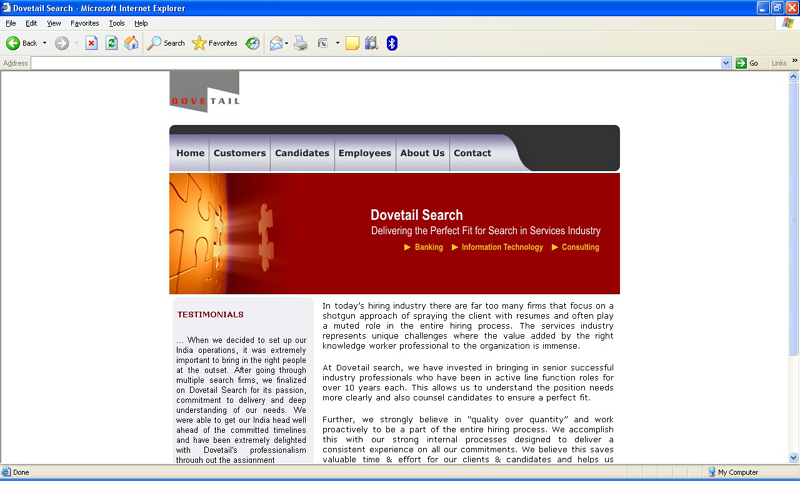 Ashtech is a creative and good looking website designing company and website development company based in Pune India. Based in Pune, India, as a website design company focused with all the digital marketing initiatives, we ensure the best possible strategic outcome for your website designing initiative. As a result at present we are serving numerous high profile corporate houses based in Pune, Mumbai, Nashik, Nagpur, Bangalore, Hyderabad, Delhi and across India for their web design and development requirements. Besides India, we have also won the confidence of global players as a website development company and renowned web designing company.