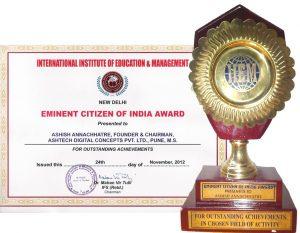 20121124 (Eminent Citizen of India Award) 001