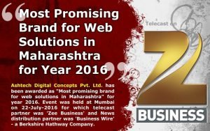 Most Promising Brand for Web Solutions
